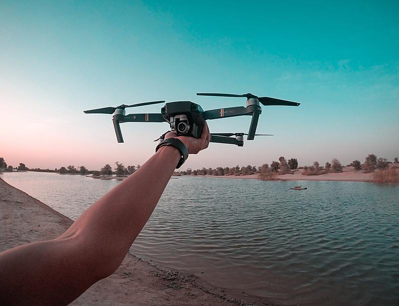 Challenge: Can you upload a photo of a drone?